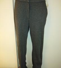 ESPRIT tegljive sive pantalone novo XL