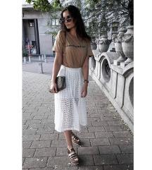 Bela duga suknja