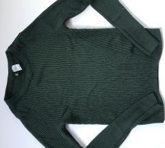 Zeleni manji džemper