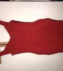 Herve Leger haljina crvena