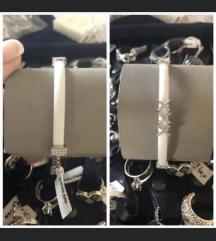 Kaucuk srebro 925