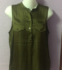 H&M olive top