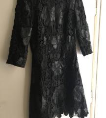 Zara crna haljinica