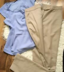 Hm elegantne pantalone i majca oboje 900din