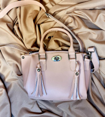 Baby roze kozna torba