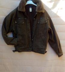 Bomber teksas jakna s krznom