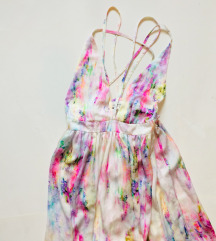 Nova haljina pastelnih mrlja M