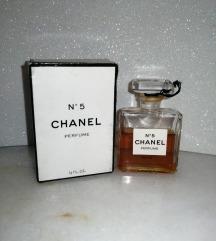 Chanel 5 cist parfem vintage 15 ml