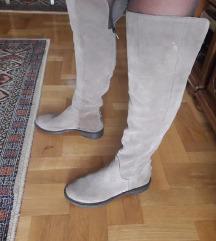 Lavarazione A. kozne cizme preko kolena39/25cm