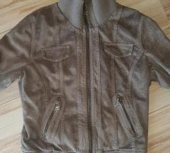 Siva jaknica velur