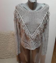 C&A džemper sivi