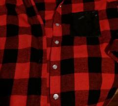 Košulja karirana, crveno-crna, XS