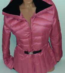 MANGO puffer pink jakna
