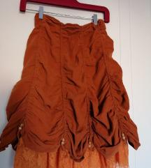 Vintage Viktorianska suknja S