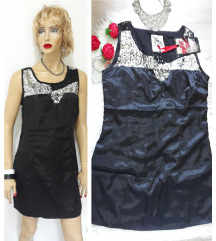 Nova crna haljina sa etiketom
