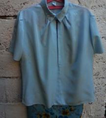 Komplet bluza cista svila + suknja  br. 46
