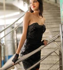 KOTON mala crna haljina