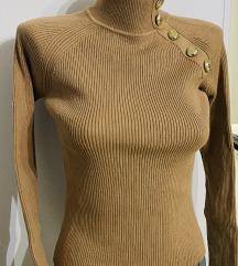 Zara majica polurolka ( knit) vel s