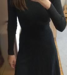 C&A tamnija siva jesenja haljina S