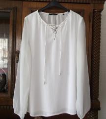 Nova Zero bela elegantna bluza