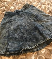 Teksas suknja siroka