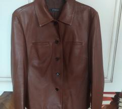 Braon kozna jakna