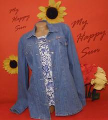 H&M SA ETIKETOM + NOVA teksas jakna
