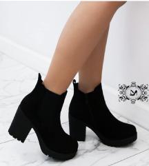 Plišane čizme  l  Velvet ankle boots  👢