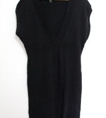 H&M Boho crna haljina