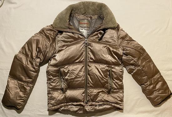 PRADA original bronze/zlatna zimska jakna