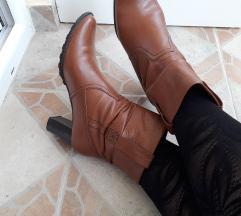 Peko kozne cizme gleznjace 38/ 24cm
