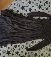 Tamno siva haljina