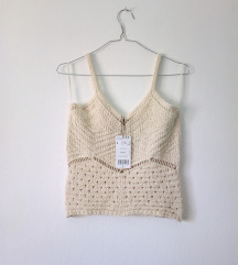 MANGO knitted top