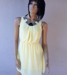 Žuta haljinica S