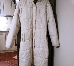 Krem duga zimska jakna