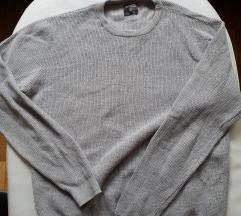 Terranova sivi džemper [KAO NOV] Unisex