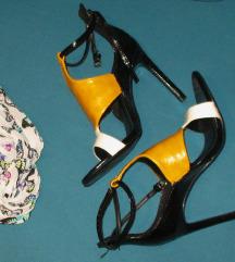 Zara sandale 36 + poklon  velika esarpa