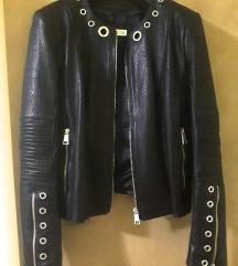 AKCIJA! Mona crna kožna jakna