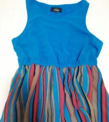 NOVO SNIŽENO Asimetrična letnja haljina