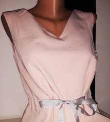 Click Fashion elegantna haljina sa pertlom