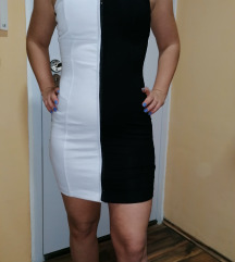 Black&white haljina
