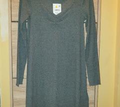 *C&A* tamno-siva haljina NOVO