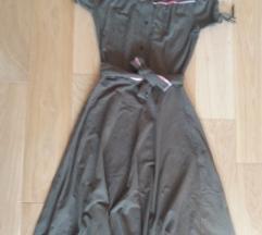 Maslinasta haljina SNIŽENA