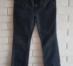 H&M MAMA pantalone za trudnice, taman teksas,40