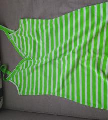 Zelena majca tunika+kosuljica