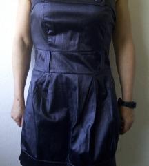 Ljubicasta top haljina M