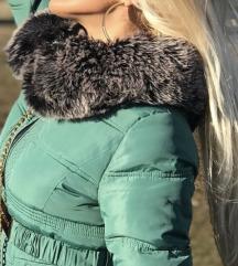Zenska jakna prirodno krzno