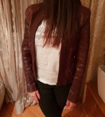Kožna Monina jakna