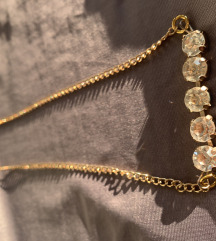 Unikat, zlatna ogrlica
