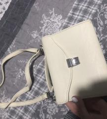 Mini torbica prljavo bela